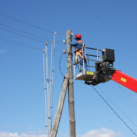 Монтаж воздушных и кабельных линий